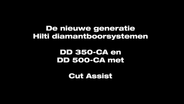 DD 350-CA. De ontkernmachine met cut assist.