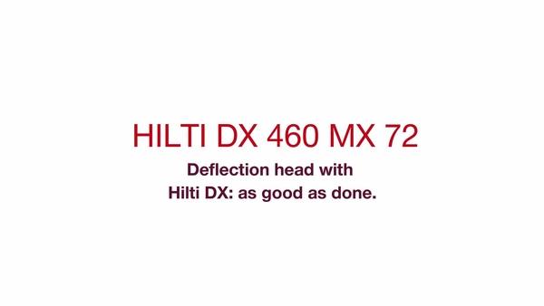 DX 460 MX 72 - Κεφαλή εκτροπής.