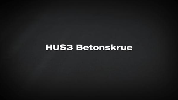 Ancoră şurub HUS3. Posibilitate de reglare fără reducerea sarcinii.