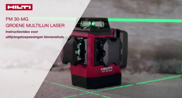 De PM 30 gebruiken, video waarin de verschillende toepassingen in het veld worden getoond.