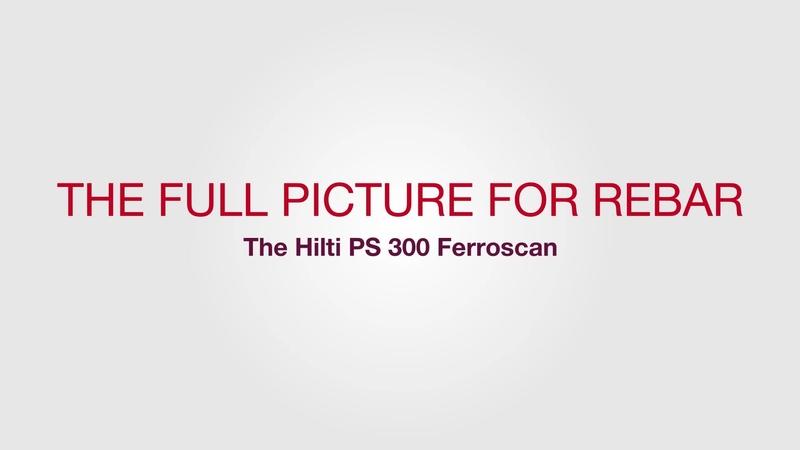 PS 300 Ferroscan - Concrete Scanners - Hilti Ireland