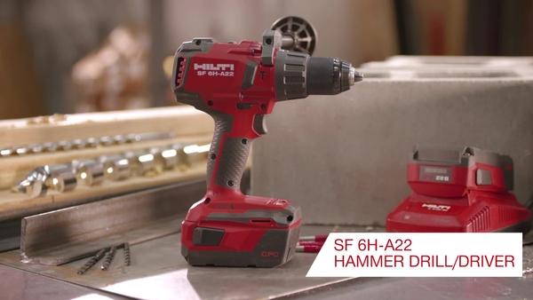 ヒルティ SF 6H-A22 充電式ドリルドライバーの紹介