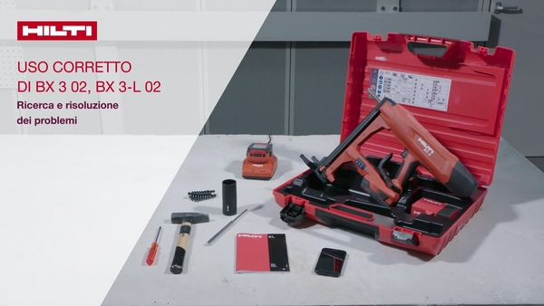 We explain different reasons like battery is not proberly inserted, nail refill indicator, nail jam / debris in the tool, nail jam in the tool nose, battery charge too low, fastener guide not properly inserted, tool too hot and other issues.