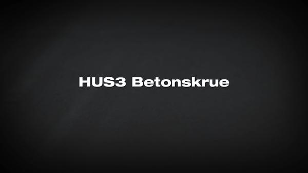 HUS3 skrueanker. Løsningen for leverandører.