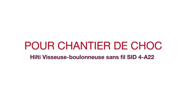 SID 4-A22 vidéo promotionnelle