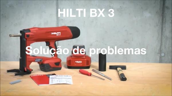Sistema BX 3 - Resolução de problemas