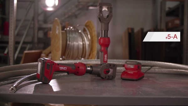 Presentación de la cortadora de cables guía y ACSR NCT 45-A de Hilti