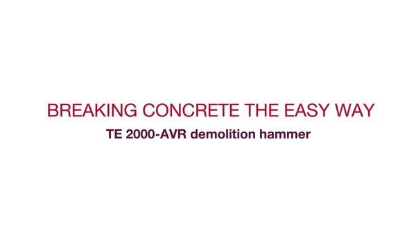 宣传 TE 2000-AVR 视频,突显此工具的主要功能,包括客户见证。