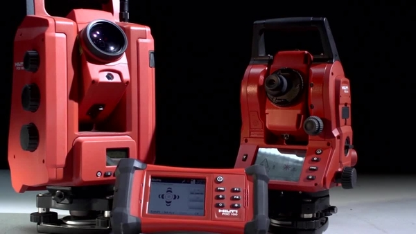 POS 150 / POS 180 – Hilti robotic and mechanical total station.
