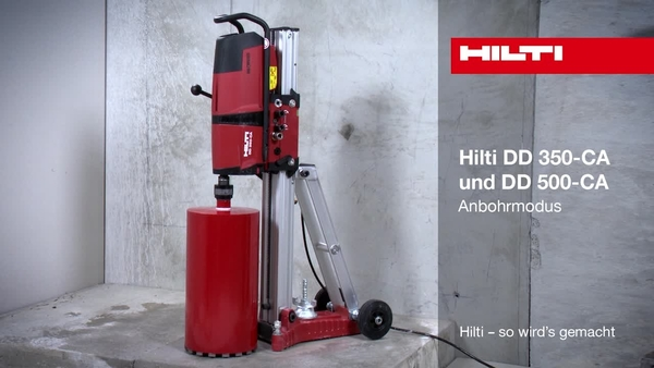 DD 350/500-CA – Anbohrstufe