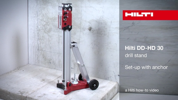 DD-HD 30 - configuratie met anker