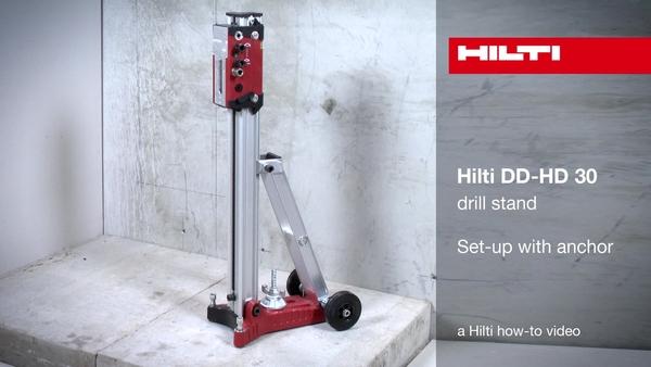 DD-HD 30 - Nastavitev s sidrom