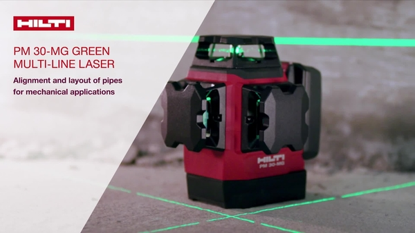 How to use the PM 30, video showing the different application uses in the field (HNA)