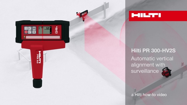 PR 300-HV2S – Automatic vertical alignment with surveillance