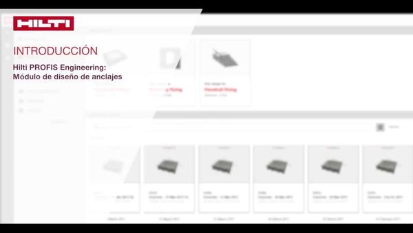 Vídeo tutorial de como fazer: aprender sobre as funções e ajustes no Hilti PROFIS Engineering e como customizar o nosso design, modificar as suas propriedades do concreto e propriedades da placa de base.