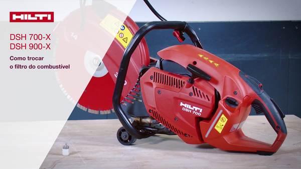 DSH 700-X, DSH 900-X - Troca do filtro de combustível.