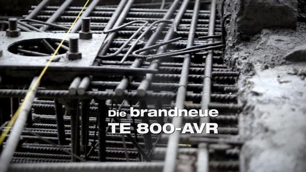 TE800 Meißelhammer. Robust und leistungsstark. DE