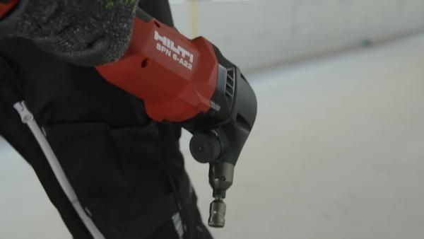 Vidéo promotionnelle sur la grignoteuse de cisaillement sans fil SPN 6-A22