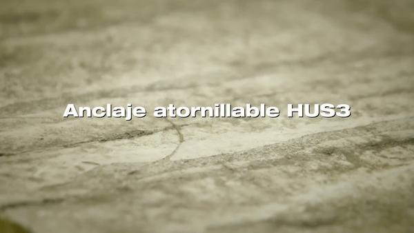 Anclaje de tornillo HUS3. Rendimiento en hormigón antiguo.