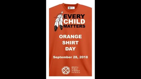 Thumbnail for entry Orange Shirt Day