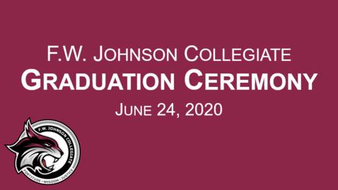 Thumbnail for entry F.W. Johnson Collegiate Graduation Ceremony
