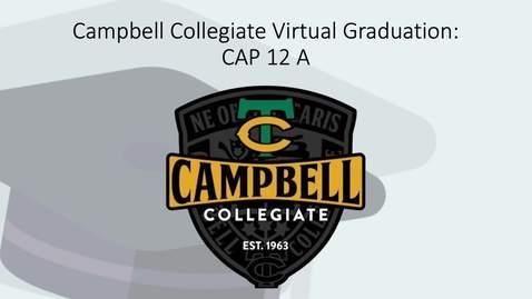 Thumbnail for entry Campbell Collegiate 2020 Virtual Grad: CAP 12A - Josephson