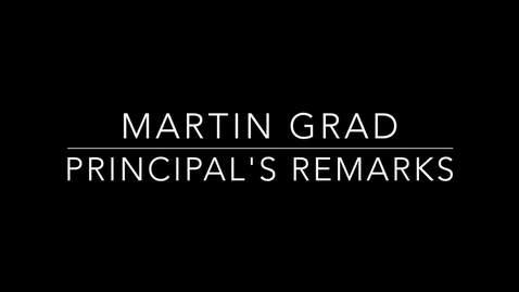 Thumbnail for entry Martin Grad Part 2