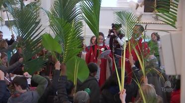 Palm Sunday Blessing of the Palms, Procession, and Liturgy