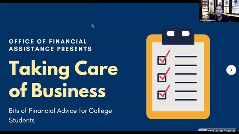 Thumbnail for entry Taking Care of Business Presentation with RSC