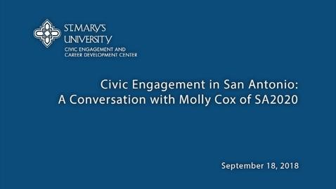 Thumbnail for entry Molly Cox, SA2020--September 18, 2018