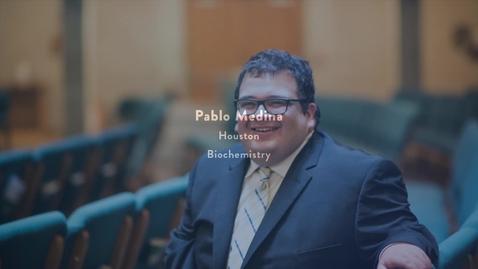 Thumbnail for entry 2016 Presidential Award Recipient - PABLO MEDINA