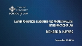 Thumbnail for entry Richard Haynes-September 26, 2018