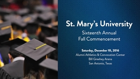 Thumbnail for entry Sixteenth Annual Fall Commencement Address by Paula Gold-Williams -- December 10, 2016