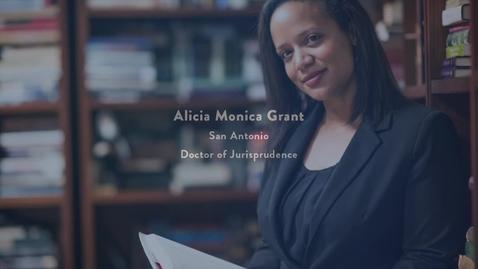 Thumbnail for entry  2016 Presidential Award Recipient - ALICIA GRANT