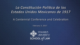 Thumbnail for entry A Centennial Conference and Celebration-February 3, 2017