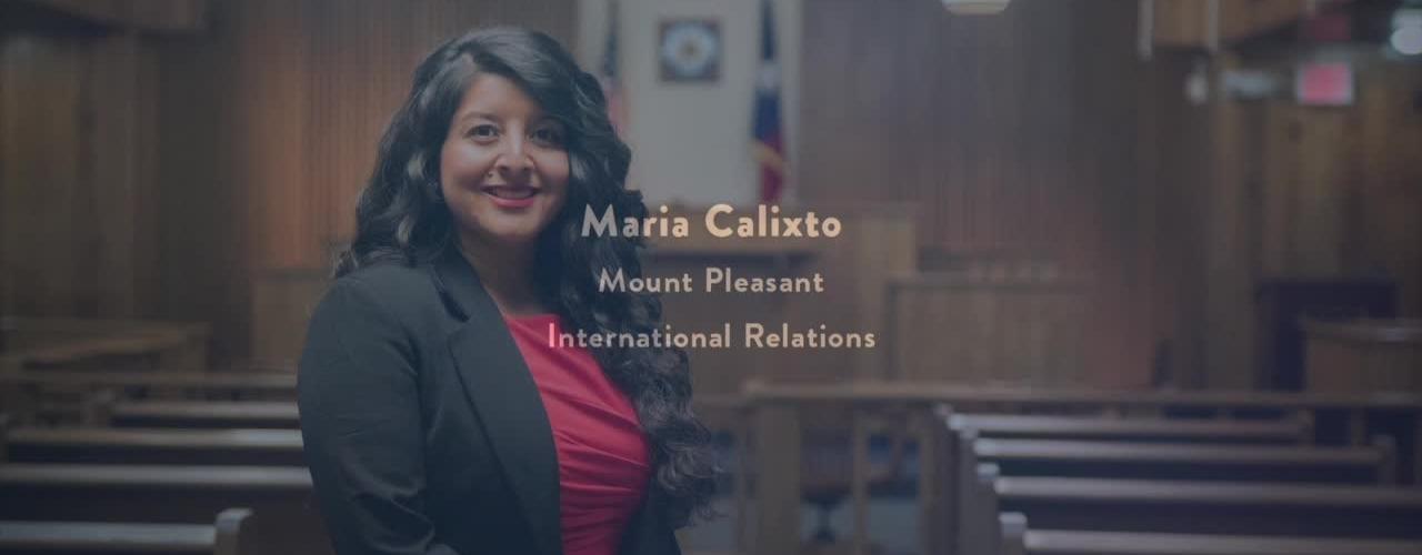 2016 Presidential Award Recipient - MARIA CALIXTO