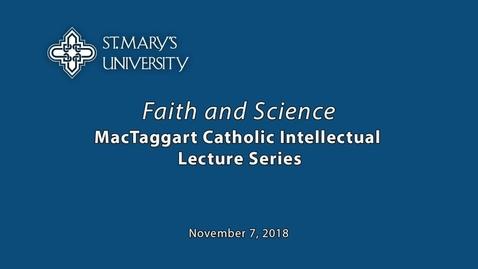 Thumbnail for entry John F. Haught, Ph.D., November 7, 2018