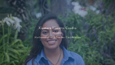 Thumbnail for entry 2016 Presidential Award Recipient - Xiomara Cuadra