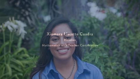 Thumbnail for entry 2016 Presidential Award Recipient - Xiomara Cuadra