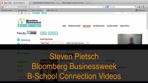 Thumbnail for entry Bloomberg B-School Connection Edge Guides and Integration Ideas