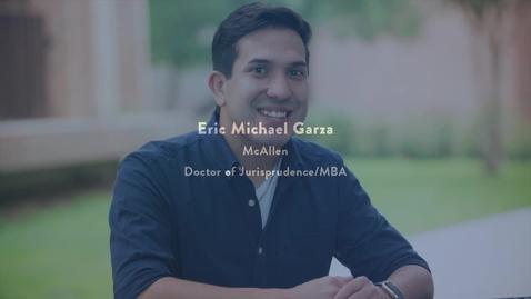 Thumbnail for entry 2016 Presidential Award Recipient - ERIC MICHAEL GARZA