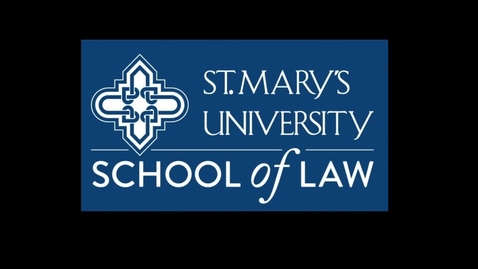 Thumbnail for entry Memories of the Class of 2016 - St. Mary's University School of Law