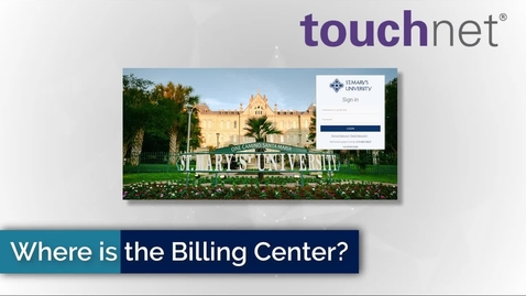 Thumbnail for entry Where is the Billing & Payment Center?
