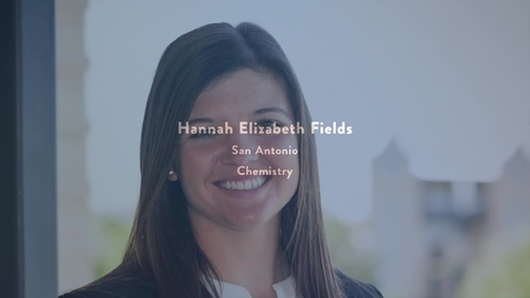 Thumbnail for entry 2016 Presidential Award Recipient - HANNA ELIZABETH FIELDS
