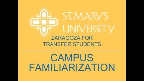 Thumbnail for entry Zaragoza Orientation Virtual Tour