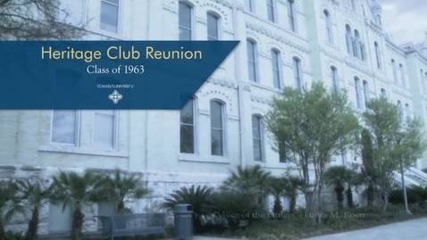 Thumbnail for entry Heritage Club Video Honoring the Class of 1963