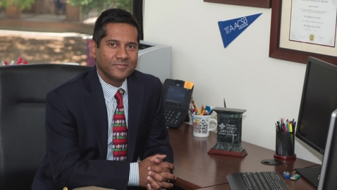 Thumbnail for entry 2017 Business Week Award Winner Dr. Ajay Swain