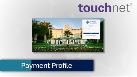 Thumbnail for entry Setting up your Payment Profile