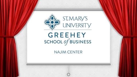Thumbnail for entry Najim Center: Design Thinking Session #2