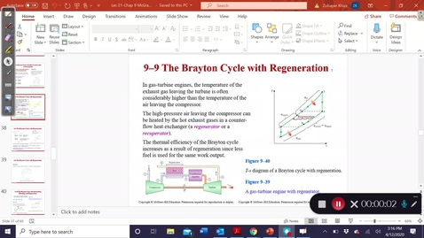 Thumbnail for entry 9.9Brayton cycle with regeneration